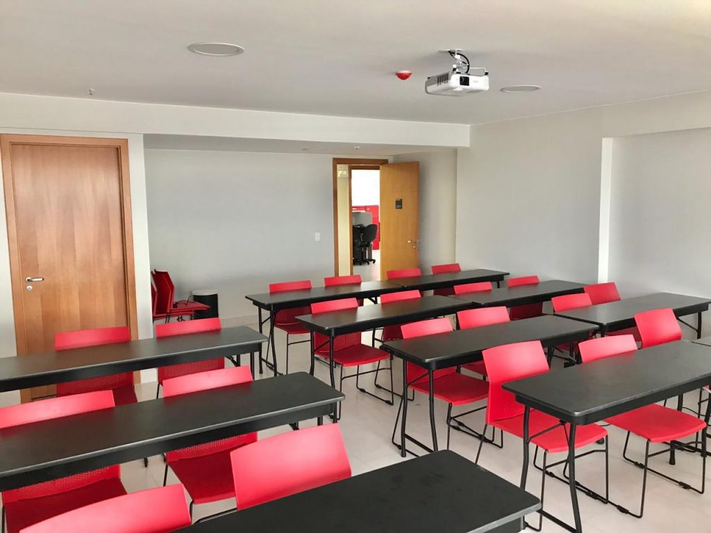 sala de aula grupo aj BIM